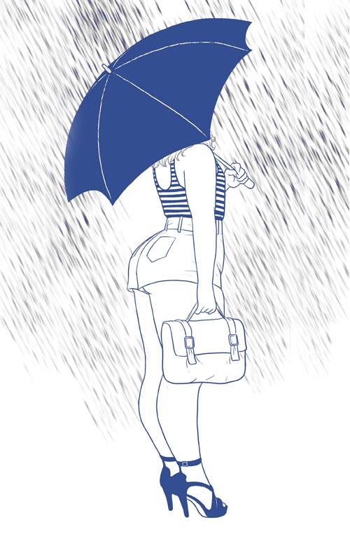 Dilraj Mann illustration. Dalton Girls