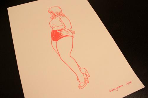 Dilraj Mann print. Dalton Girls