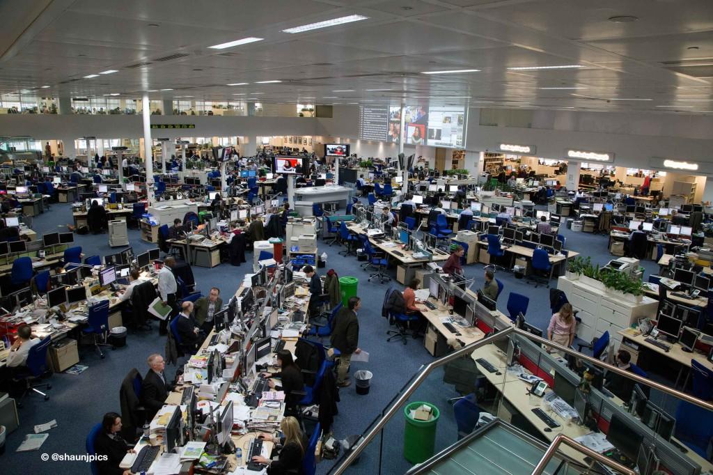 daily telegrah newsroom