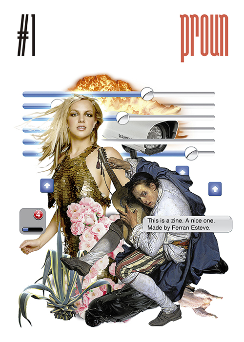 Fanzine Proun arte y cultura digital
