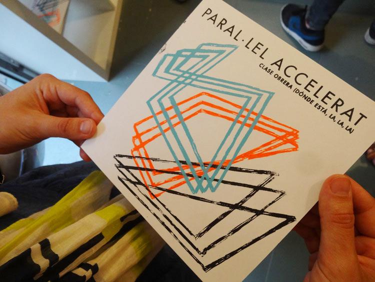 Paral·lel Accelerat serigrafía